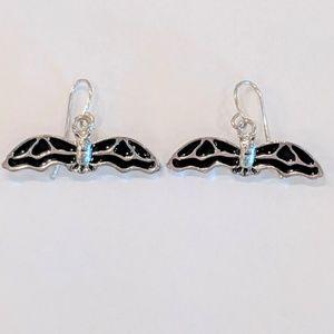 Jewelry - Halloween Bat Earrings